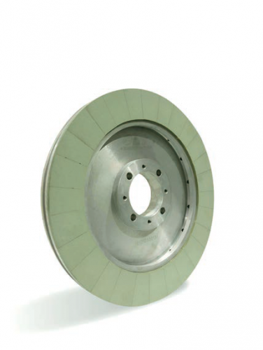 Vitrified bonded diamond wheel for polishing PCD