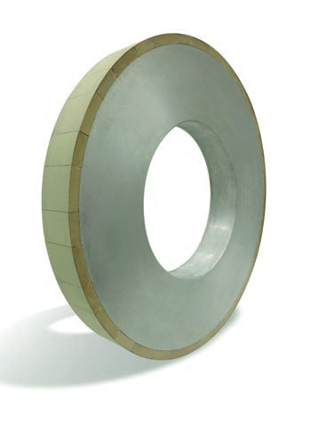 Vitrified diamond wheel for semi-fine and finish machining PDC